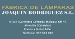 Lámparas Joaquín Rodríguez