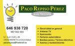 Electricidad Paco Repiso