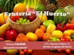 """Frutería """"El Huerto"""""""